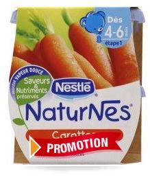 Naturnes Carottes Nestlé